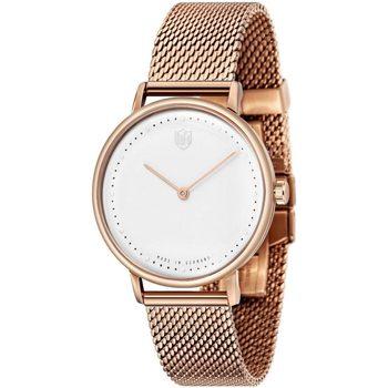 Ceasuri & Bijuterii Bărbați Ceasuri Analogice Dufa DF-9020-22, Quartz, 38mm, 3ATM Auriu