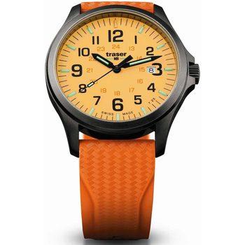 Ceasuri & Bijuterii Bărbați Ceasuri Analogice Traser H3 107423, Quartz, 42mm, 10ATM Negru