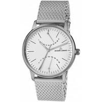 Ceasuri & Bijuterii Bărbați Ceasuri Analogice Jacques Lemans N-218F, Quartz, 40mm, 5ATM Argintiu