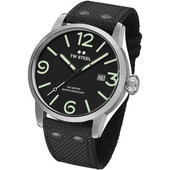 Ceasuri & Bijuterii Bărbați Ceasuri Analogice Tw-Steel MS12, Quartz, 48mm, 10ATM Argintiu