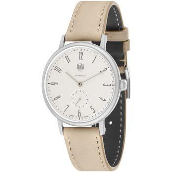 Ceasuri & Bijuterii Bărbați Ceasuri Analogice Dufa DF-9001-0T, Quartz, 38mm, 3ATM Argintiu