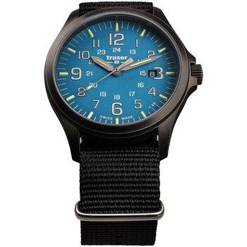Ceasuri & Bijuterii Bărbați Ceasuri Analogice Traser H3 108647, Quartz, 42mm, 10ATM Negru