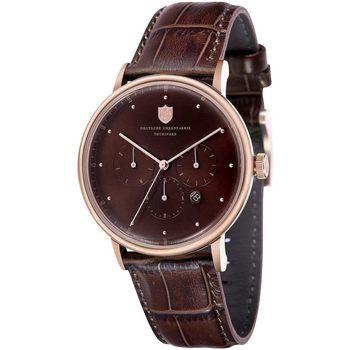 Ceasuri & Bijuterii Bărbați Ceasuri Analogice Dufa DF-9013-02, Automatic, 42mm, 3ATM Auriu