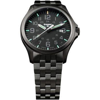 Ceasuri & Bijuterii Bărbați Ceasuri Analogice Traser H3 107868, Quartz, 42mm, 10ATM Negru