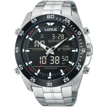 Ceasuri & Bijuterii Bărbați Cesuri Analogic- digital Lorus RW611AX9, Quartz, 46mm, 10ATM Argintiu
