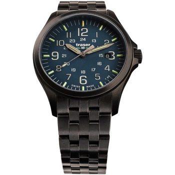 Ceasuri & Bijuterii Bărbați Ceasuri Analogice Traser H3 108739, Quartz, 42mm, 10ATM Negru