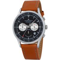 Ceasuri & Bijuterii Bărbați Ceasuri Analogice Jacques Lemans 1-2068B, Quartz, 41mm, 5ATM Argintiu
