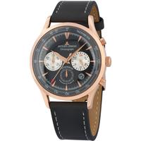 Ceasuri & Bijuterii Bărbați Ceasuri Analogice Jacques Lemans 1-2068E, Quartz, 41mm, 5ATM Auriu