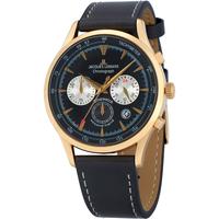 Ceasuri & Bijuterii Bărbați Ceasuri Analogice Jacques Lemans 1-2068I, Quartz, 41mm, 5ATM Auriu