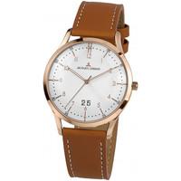 Ceasuri & Bijuterii Bărbați Ceasuri Analogice Jacques Lemans 1-2066F, Quartz, 40mm, 5ATM Auriu