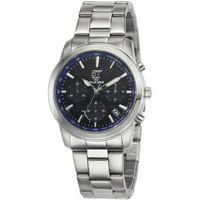 Ceasuri & Bijuterii Bărbați Ceasuri Analogice Ett Eco Tech Time EGS-12073-31M, Quartz, 41mm, 10ATM Argintiu