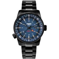 Ceasuri & Bijuterii Bărbați Ceasuri Analogice Traser H3 109524, Quartz, 46mm, 10ATM Negru