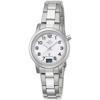 Ceasuri & Bijuterii Femei Ceasuri Analogice Master Time MTLA-10301-12M, Quartz, 34mm, 3ATM Argintiu