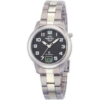Ceasuri & Bijuterii Femei Ceasuri Analogice Master Time MTLT-10652-51M, Quartz, 34mm, 5ATM Argintiu