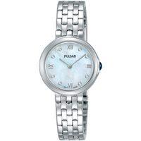 Ceasuri & Bijuterii Femei Ceasuri Analogice Pulsar PM2243X1, Quartz, 26mm, 5ATM Argintiu