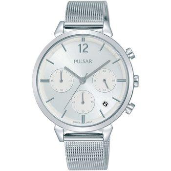Ceasuri & Bijuterii Femei Ceasuri Analogice Pulsar PT3943X1, Quartz, 36mm, 5ATM Argintiu