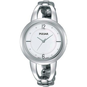 Ceasuri & Bijuterii Femei Ceasuri Analogice Pulsar PH8203X1, Quartz, 33mm, 3ATM Argintiu