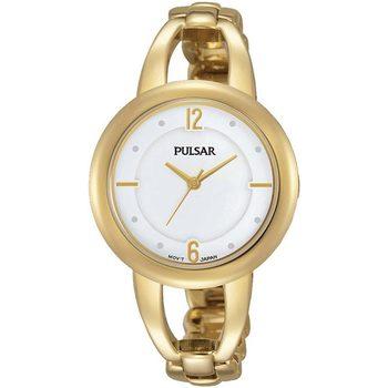 Ceasuri & Bijuterii Femei Ceasuri Analogice Pulsar PH8206X1, Quartz, 33mm, 3ATM Auriu