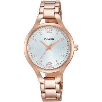 Ceasuri & Bijuterii Femei Ceasuri Analogice Pulsar PH8190X1, Quartz, 30mm, 3ATM Auriu