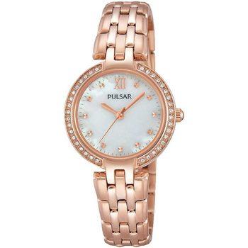 Ceasuri & Bijuterii Femei Ceasuri Analogice Pulsar PH8168X1, Quartz, 28mm, 3ATM Auriu
