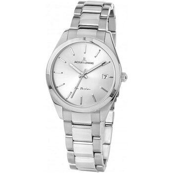 Ceasuri & Bijuterii Femei Ceasuri Analogice Jacques Lemans 1-2084D, Quartz, 30mm, 10ATM Argintiu