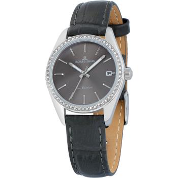 Ceasuri & Bijuterii Femei Ceasuri Analogice Jacques Lemans 1-2085A, Quartz, 30mm, 10ATM Argintiu