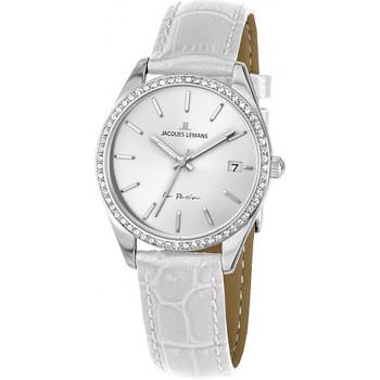 Ceasuri & Bijuterii Femei Ceasuri Analogice Jacques Lemans 1-2085B, Quartz, 30mm, 10ATM Argintiu