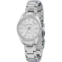 Ceasuri & Bijuterii Femei Ceasuri Analogice Jacques Lemans 1-2085D, Quartz, 30mm, 10ATM Argintiu