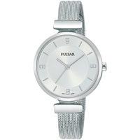 Ceasuri & Bijuterii Femei Ceasuri Analogice Pulsar PH8467X1, Quartz, 30mm, 3ATM Argintiu