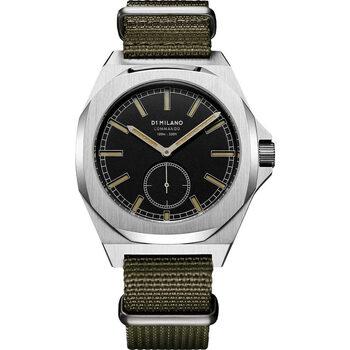 Ceasuri & Bijuterii Bărbați Ceasuri Analogice D1 Milano MTNJ03, Quartz, 38mm, 10ATM Argintiu