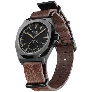 Ceasuri & Bijuterii Bărbați Ceasuri Analogice D1 Milano MTLJ01, Quartz, 38mm, 10ATM Negru