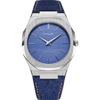 Ceasuri & Bijuterii Bărbați Ceasuri Analogice D1 Milano UTDJ01, Quartz, 40mm, 5ATM Argintiu
