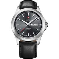 Ceasuri & Bijuterii Bărbați Ceasuri Analogice Swiss Military By Chrono SMP36040.08, Quartz, 42mm, 5ATM Argintiu