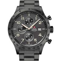 Ceasuri & Bijuterii Bărbați Ceasuri Analogice Swiss Military By Chrono SM34084.04, Quartz, 42mm, 10ATM Gri