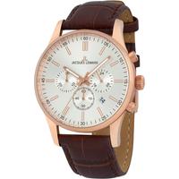 Ceasuri & Bijuterii Bărbați Ceasuri Analogice Jacques Lemans 1-2025E, Quartz, 42mm, 10ATM Auriu