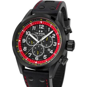 Ceasuri & Bijuterii Bărbați Ceasuri Analogice Tw-Steel SVS303, Quartz, 48mm, 10ATM Negru