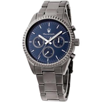 Ceasuri & Bijuterii Bărbați Ceasuri Analogice Maserati R8853100019, Quartz, 43mm, 10ATM Gri