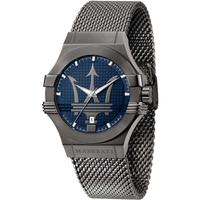 Ceasuri & Bijuterii Bărbați Ceasuri Analogice Maserati R8853108005, Quartz, 42mm, 10ATM Gri