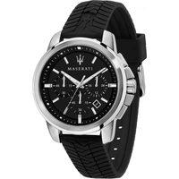 Ceasuri & Bijuterii Bărbați Ceasuri Analogice Maserati R8871621014, Quartz, 44mm, 5ATM Argintiu