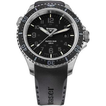 Ceasuri & Bijuterii Bărbați Ceasuri Analogice Traser H3 109377, Quartz, 46mm, 50ATM Argintiu