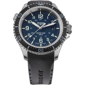 Ceasuri & Bijuterii Bărbați Ceasuri Analogice Traser H3 109374, Quartz, 46mm, 50ATM Argintiu