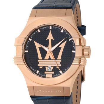 Ceasuri & Bijuterii Bărbați Ceasuri Analogice Maserati R8851108027, Quartz, 42mm, 10ATM Auriu