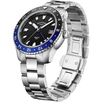 Ceasuri & Bijuterii Bărbați Ceasuri Analogice Rotary GB05108/63, Quartz, 42mm, 10ATM Argintiu