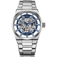Ceasuri & Bijuterii Bărbați Ceasuri Analogice Rotary GB05210/05, Automatic, 42mm, 5ATM Argintiu
