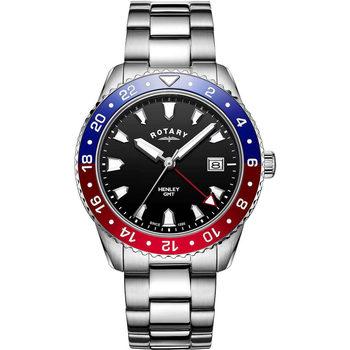 Ceasuri & Bijuterii Bărbați Ceasuri Analogice Rotary GB05108/30, Quartz, 42mm, 10ATM Argintiu