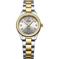 Ceasuri & Bijuterii Femei Ceasuri Analogice Rotary LB05093/44/D, Quartz, 28mm, 5ATM Auriu