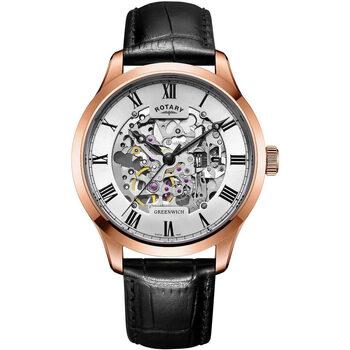 Ceasuri & Bijuterii Bărbați Ceasuri Analogice Rotary GS02942/01, Automatic, 42mm, 5ATM Auriu