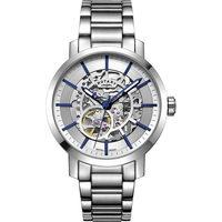 Ceasuri & Bijuterii Bărbați Ceasuri Analogice Rotary GB05350/06, Automatic, 42mm, 5ATM Argintiu