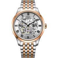 Ceasuri & Bijuterii Bărbați Ceasuri Analogice Rotary GB02944/06, Automatic, 42mm, 5ATM Auriu