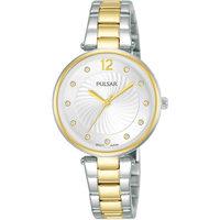 Ceasuri & Bijuterii Femei Ceasuri Analogice Pulsar PH8492X1, Quartz, 30mm, 5ATM Argintiu